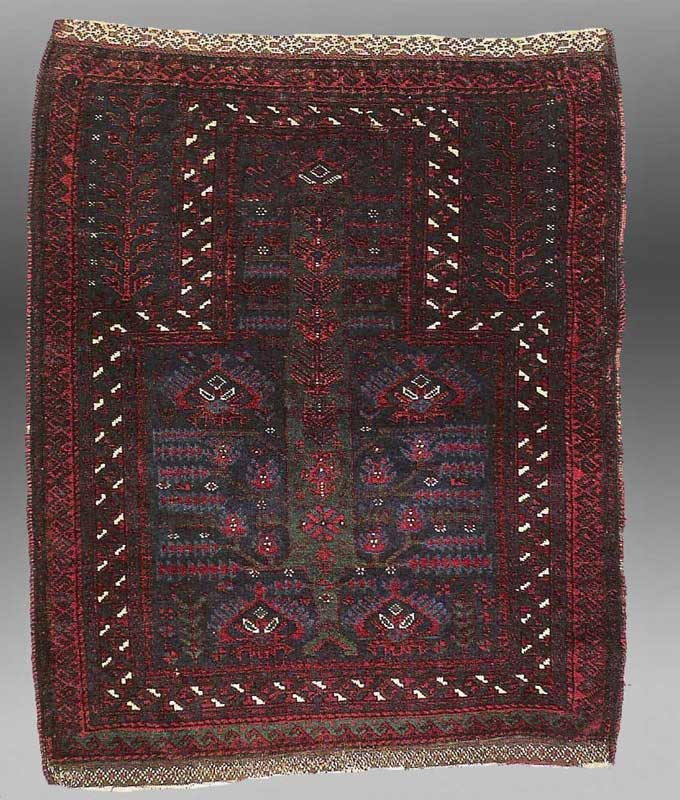 Prayer Rug Types: Doing The Baluch Bend