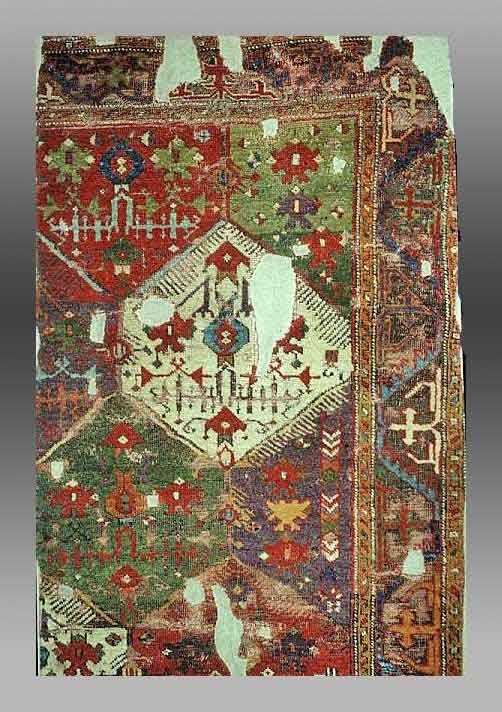 Knotted Pile Wool Rug Fragment Turkey 17 18th Century Berlin Museum Of Islamic Art No89 286 F Spuhler Oriental Carpets In The